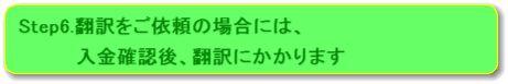 帰化申請セット(取り寄せのみ)や相続手続きセット(取り寄せのみ)を利用される方の韓国語取り寄せのご依頼の流れstep6